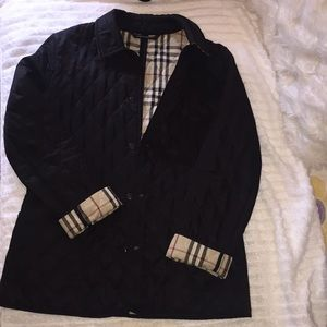 Authentic Burberry London Classic Quilted Jacket